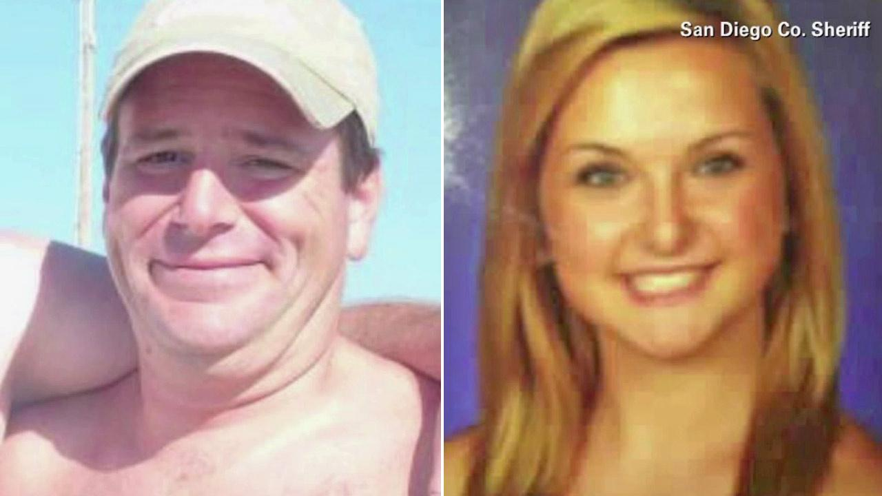 James Lee DiMaggio, 40, and Hannah Anderson, 16, are shown in file images from the San Diego County Sheriffs Department.