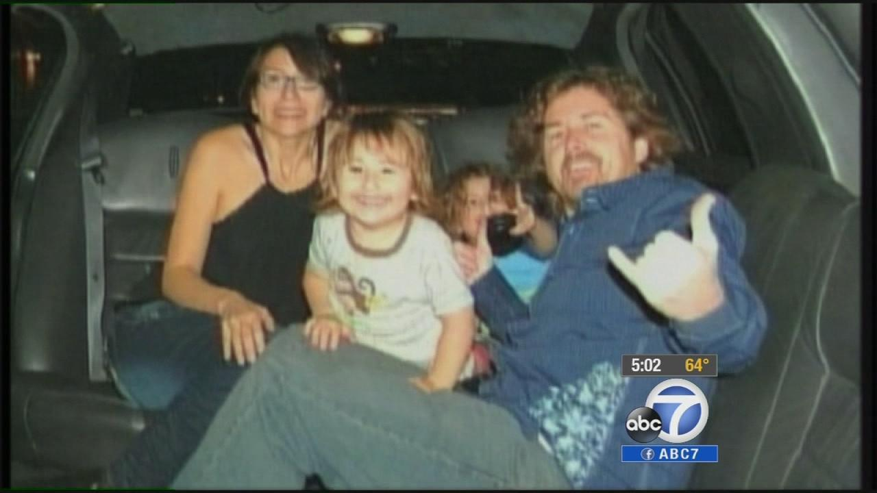 The McStay family is seen in this undated file photo.