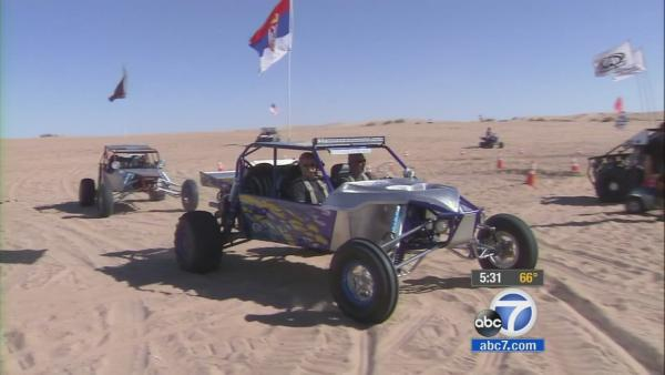 Adrenaline, sand for Thanksgiving in Glamis