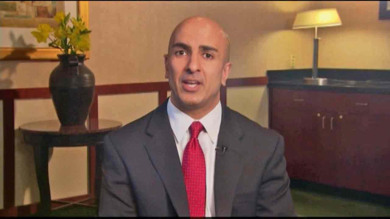 Neel Kashkari, a former U.S. Treasury official, is shown in this undated file photo.