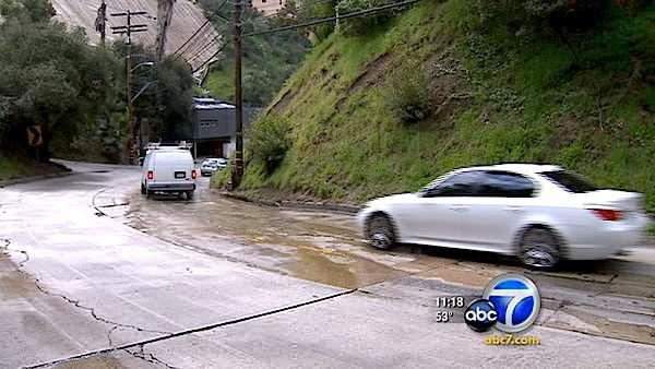 Wasted canyon water down Laurel Canyon Boulevard is bugging Eyewitness News viewers.