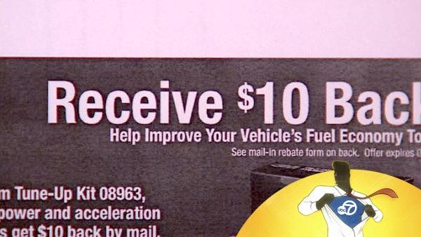 You'll get a bargain if you mail in a rebate, but that is not as easy as it sounds. That's bugging some ABC7 viewers.