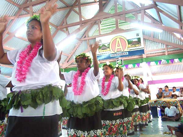 No. 9: Kiribati. About 77 percent of people living there have a body mass index of at least 25 percent, which is considered overweight, according to statistics from the World Health Organization.