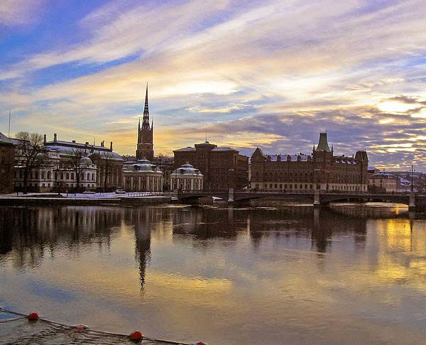 Stockholm, Sweden ranked No. 7 on...