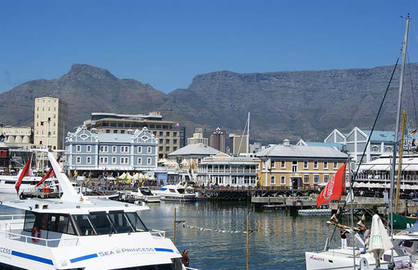 Cape Town, South Africa ranked No. 14 on...