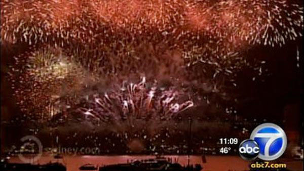 People around the world celebrate New Year