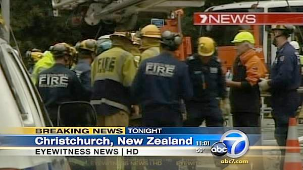 Woman rescued after 24hrs in NZ quake rubble