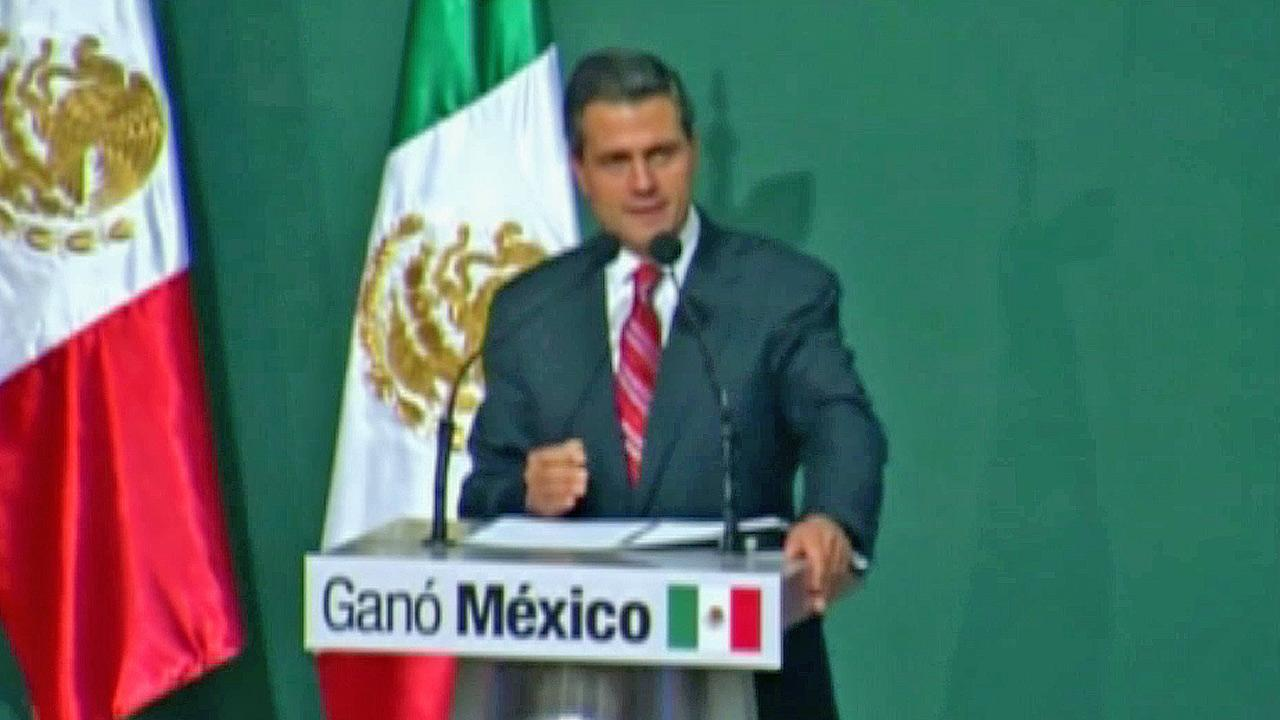 Enrique Pena Nieto is seen in this undated file photo.