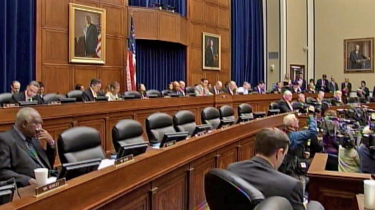 A congressional hearing is held regarding security levels at the U.S. consulate in Benghazi, Libya.