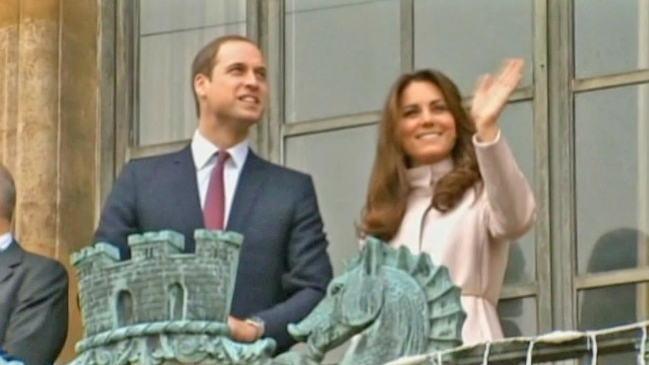 Prince William and Kate Middleton are seen in this undated file photo.