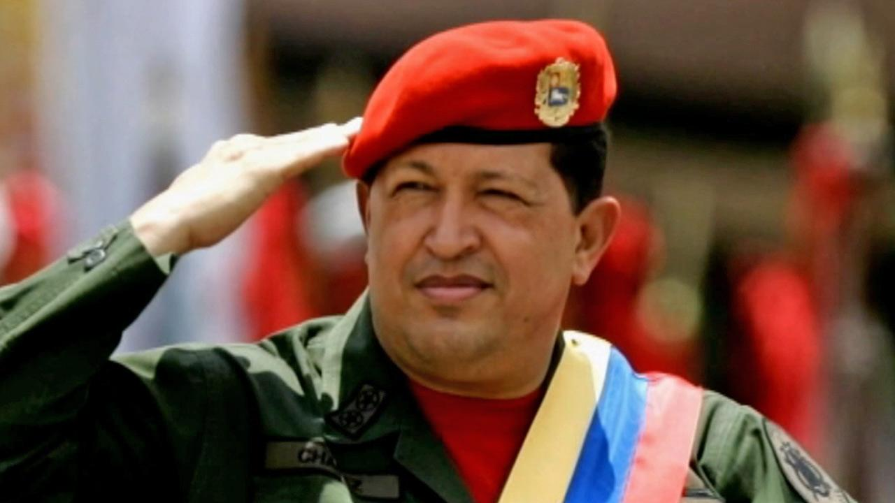 Venezuelas President Hugo Chavez is seen in this undated file photo.