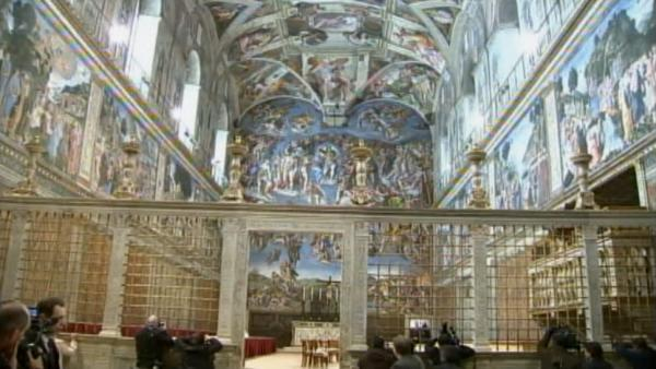 The gallery for --> Sistine Chapel Inside