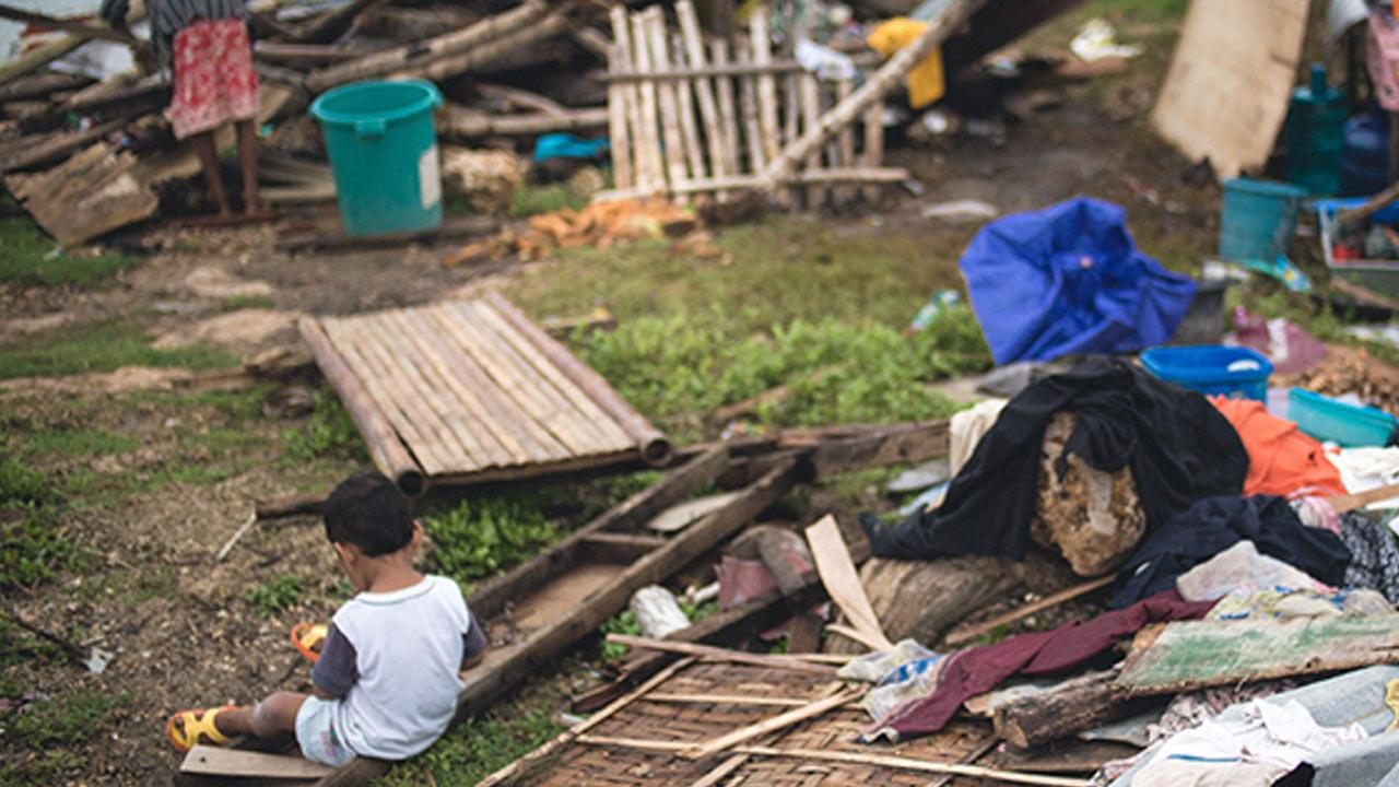 Typhoon Haiyan devastated the Philippines in early November 2013.