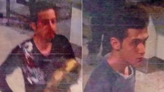 Interpol released images of two Iranians who were traveling with stolen passports on a missing Malaysia Airlines jetliner.