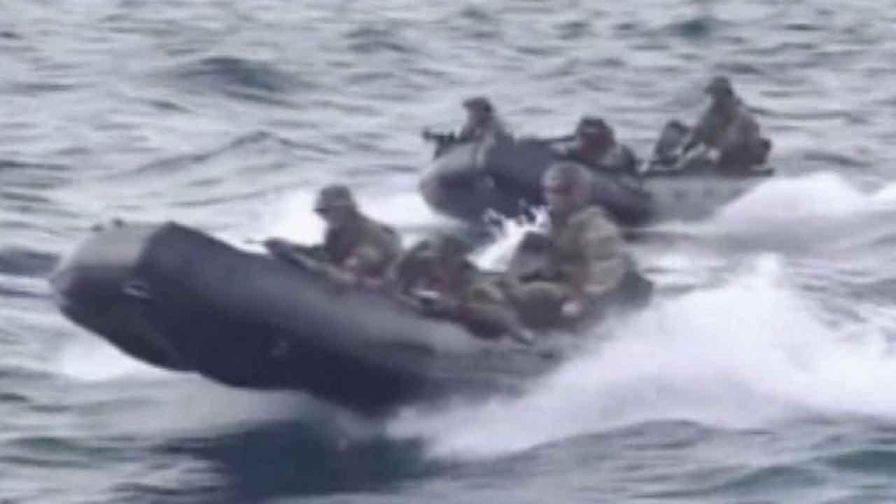 Navy SEALS pilot watercrafts during training exercises in this undated file photo.