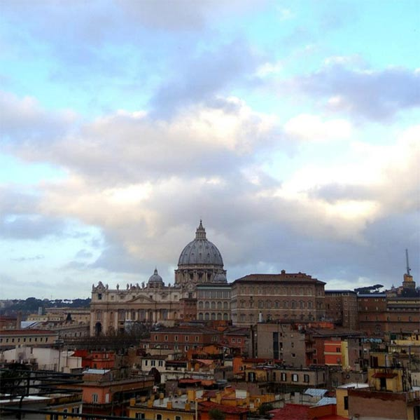 A beautiful day in Rome, Italy.  <span class=meta>(KABC)</span>