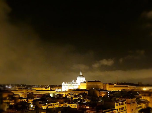 A beautiful night in Rome, Italy. <span class=meta>(KABC)</span>