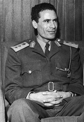 "<div class=""meta ""><span class=""caption-text "">Libyan strongman, Moammar Gadhafi July 1973. (AP Photo)</span></div>"