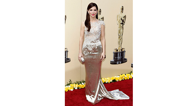 Sandra Bullock arrives during the 82nd Academy Awards Sunday, March 7, 2010.