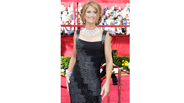 Kathy Ireland arrives on the red carpet at the 82nd Academy Awards Sunday, March 7, 2010.