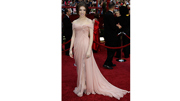 Anna Kendrick arrives at the 82nd Academy Awards Sunday, March 7, 2010.