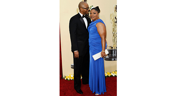 Mo'Nique and her husband Sidney Hicks arrive during the 82nd Academy Awards Sunday, March 7, 2010.