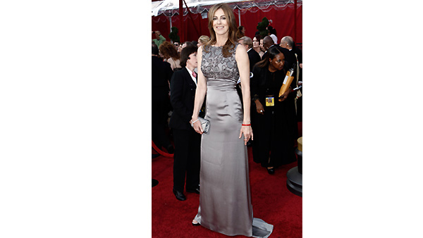 Director Kathryn Bigelow arrives during the 82nd Academy Awards Sunday, March 7, 2010.