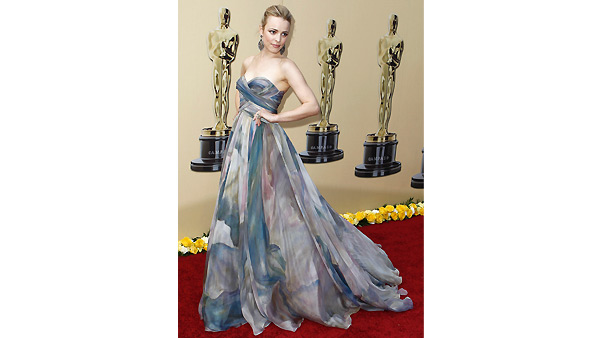 Rachel McAdams arrives during the 82nd Academy Awards Sunday, March 7, 2010.