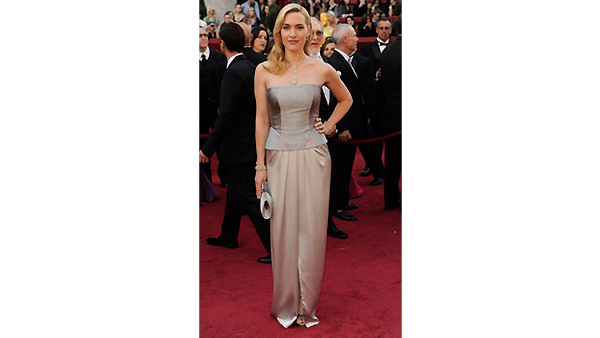 Kate Winslet arrives during the 82nd Academy Awards Sunday, March 7, 2010.