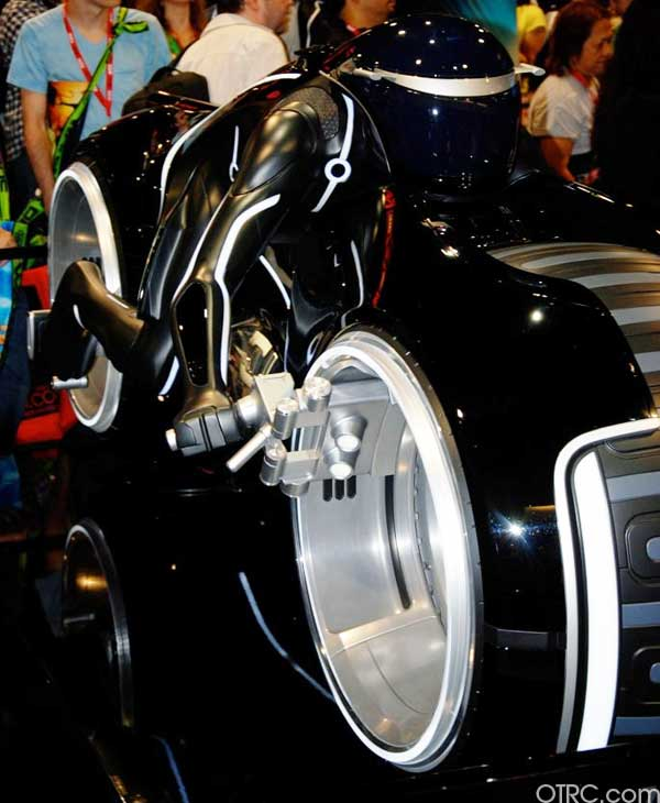 The Tron Light Cycle is seen at Comic-Con in San Diego during preview night, Wednesday, July 21, 2010. <span class=meta>(KABC)</span>