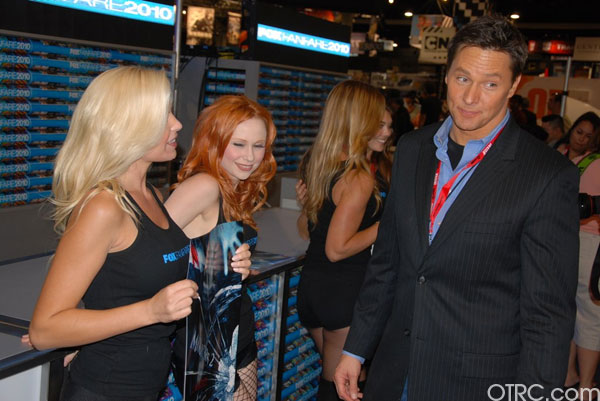 'On The Red Carpet' host Chris Balish at Comic-Con 2010 in San Diego