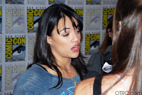 Actress Michelle Rodriguez at Comic-Con 2010 in San Diego