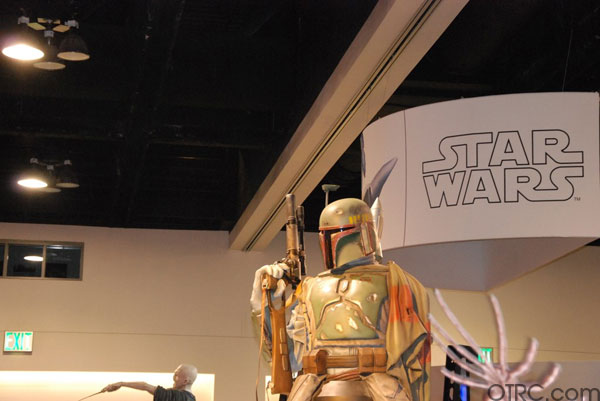 'Star Wars' exhibit booth at Comic-Con 2010 in San Diego