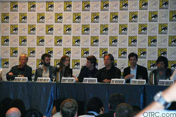 'Tron: Legacy' movie panel at Comic-Con 2010 in...