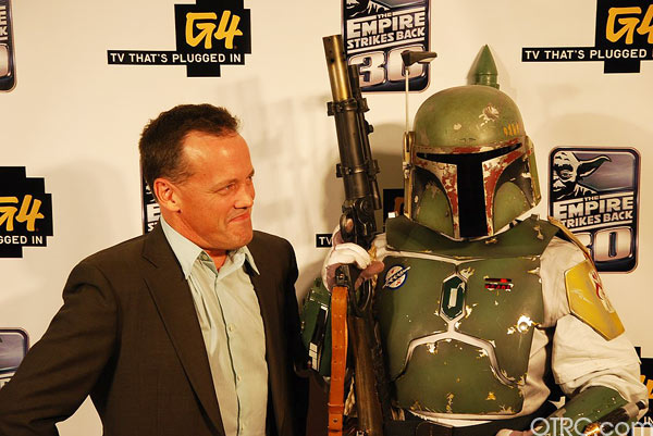 'Star Wars' characters at a G4 party at Comic-Con in San Diego on Thursday, July 22, 2010.