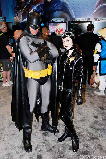 Costumes seen at Comic-Con in San Diego on...
