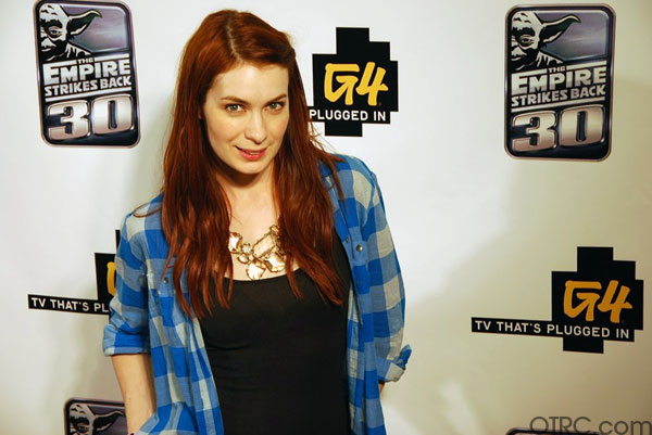 'Dr. Horrible's Sing-Along Blog' star Felicia Day is seen at Comic-Con in San Diego on Thursday, July 22, 2010.