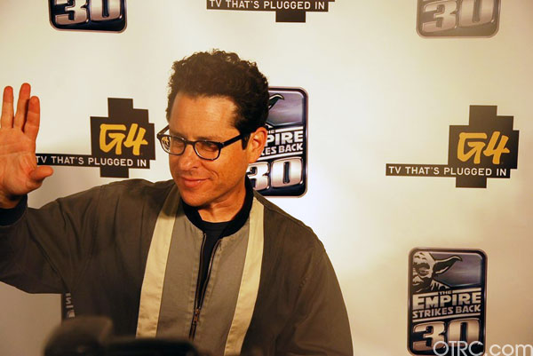 'Star Trek' director and 'Lost' creator J.J. Abrams at Comic-Con in San Diego on Thursday, July 22, 2010.