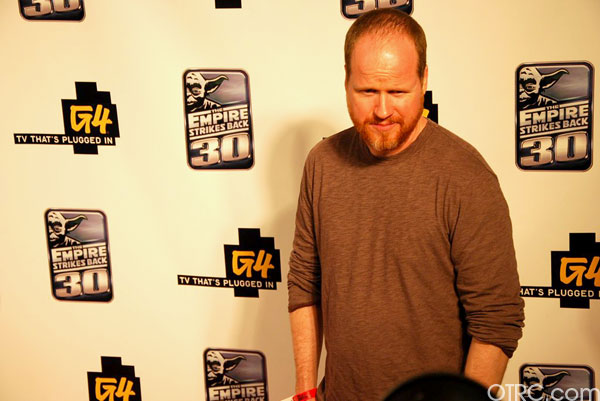 'Dollhouse' creator Joss Whedon at Comic-Con on...