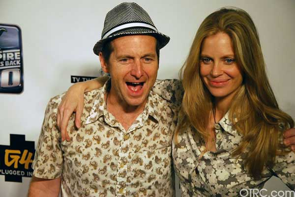 "<div class=""meta ""><span class=""caption-text "">'True Blood' stars Kristin Bauer van Straten, who plays Eric's right hand woman Pam, and King Of Mississippi actor Denis O'Hare are seen at Comic-Con in San Diego on Thursday, July 22, 2010.  (KABC)</span></div>"