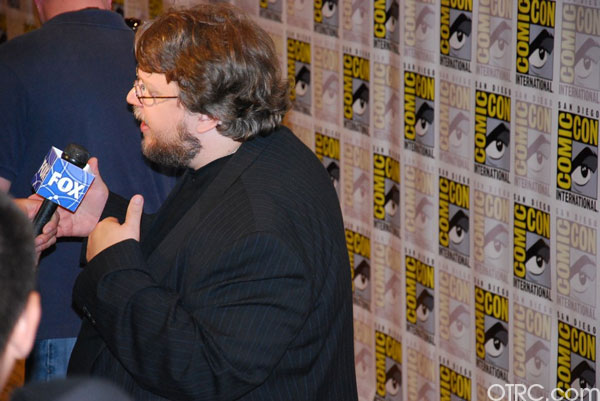 Director Guillermo del Toro, who just announced he's developing a new Haunted Mansion movie , is seen at Comic-Con in San Diego on Saturday July 24, 2010.