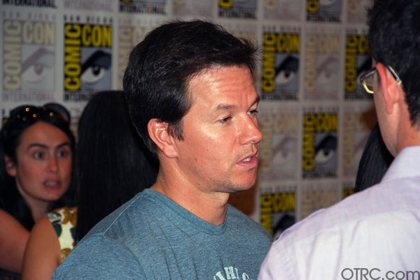 Mark Wahlberg was seen at Comic-Con in San Diego...
