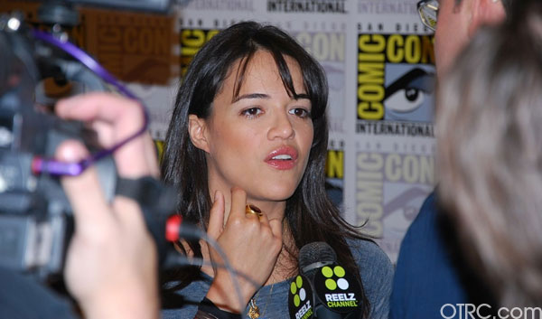Former &#39;Lost&#39; star Michelle Rodriguez wrote on her Twitter page, &#39;Prop 8 seems to have been overturned in california, one step for democracy one giant leap towards humanity&#39; <span class=meta>(OTRC)</span>