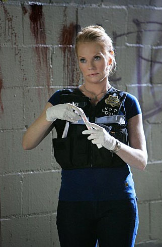 Drama Category: Actress Marg Helgenberger earns &#36;375,000 per episode for her role as Catherine Willows on &#39;CSI: Crime Scene Investigation,&#39; according to TVGuide.com. <span class=meta>(Photo courtesy CBS Paramount Network Television)</span>
