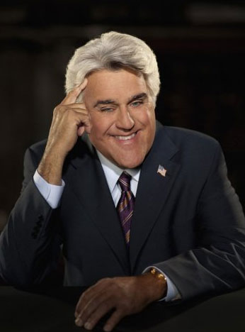 Jay Leno appears in a still from 'The Tonight Show.'