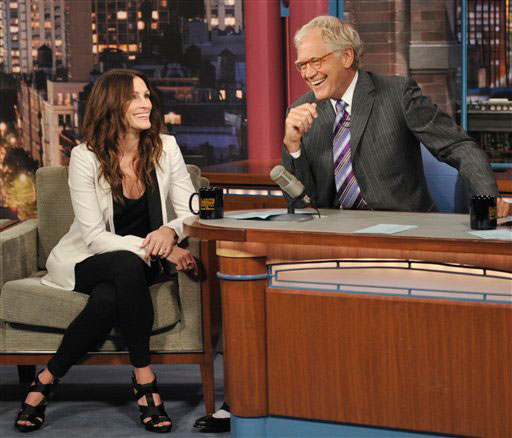 David Letterman appears in a still from 'The...