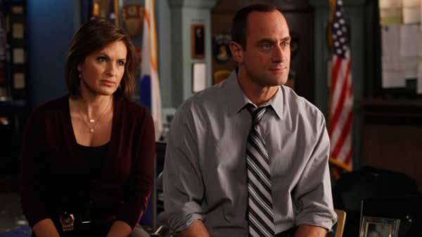 <b>Drama category:</b> Actors Christopher Meloni and Mariska Hargitay earn $395,000 per episode each for their roles as detectives Elliot Stabler and Olivia Benson on 'Law & Order: Special Victims Unit'.