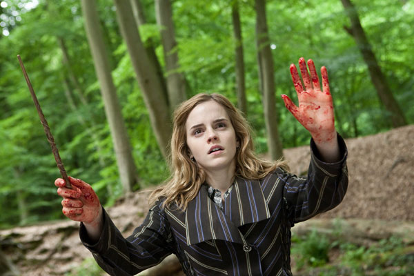 "<div class=""meta ""><span class=""caption-text "">Hermione Granger (Emma Watson) appears in a scene from 'Harry Potter and the Deathly Hallows - Part 1.' (Jaap Buitendijk / Warner Bros. Pictures)</span></div>"