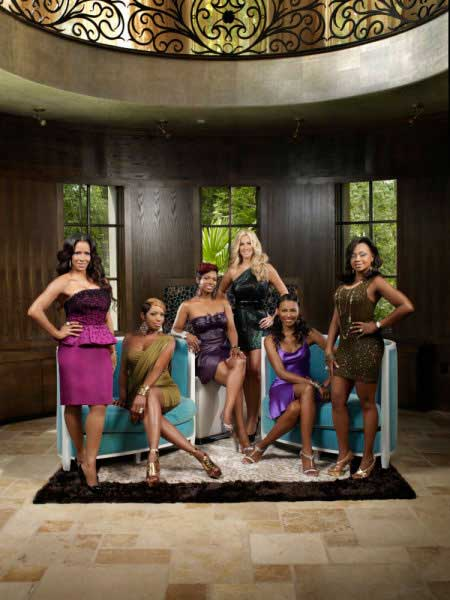 "<div class=""meta image-caption""><div class=""origin-logo origin-image ""><span></span></div><span class=""caption-text"">The cast of 'The Real Housewives of Atlanta' for season three, which premieres Oct. 4. (Bravo/Quantrell Colbert)</span></div>"