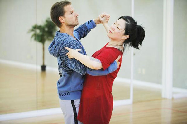 Margaret Cho partners with Louis van Amstel, who returns for his seventh season. The season 11 star-studded cast and their professional partners get ready to break in their dancing shoes on ABC&#39; &#39;Dancing With the Stars&#39; for the long awaited two-hour season premiere, Monday, September 20. <span class=meta>(ABC&#47;Greg Zabilski)</span>